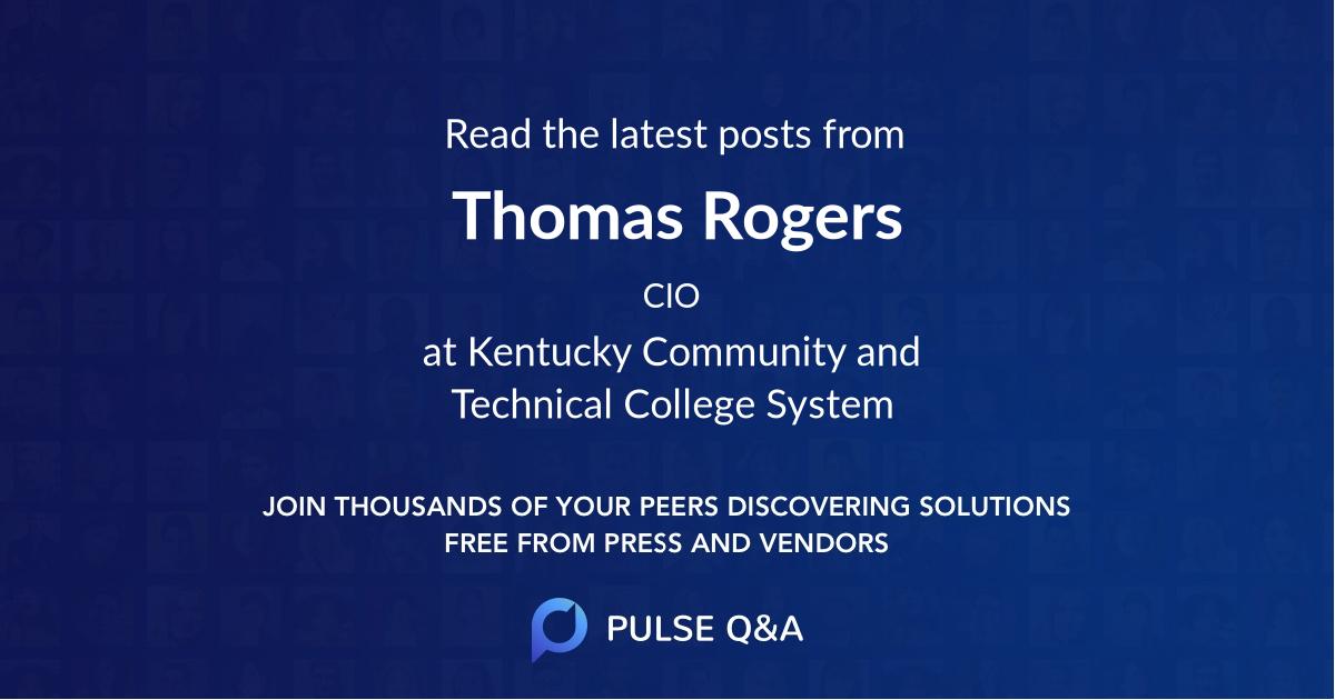 Thomas Rogers
