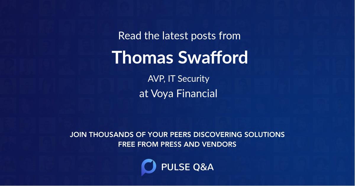 Thomas Swafford