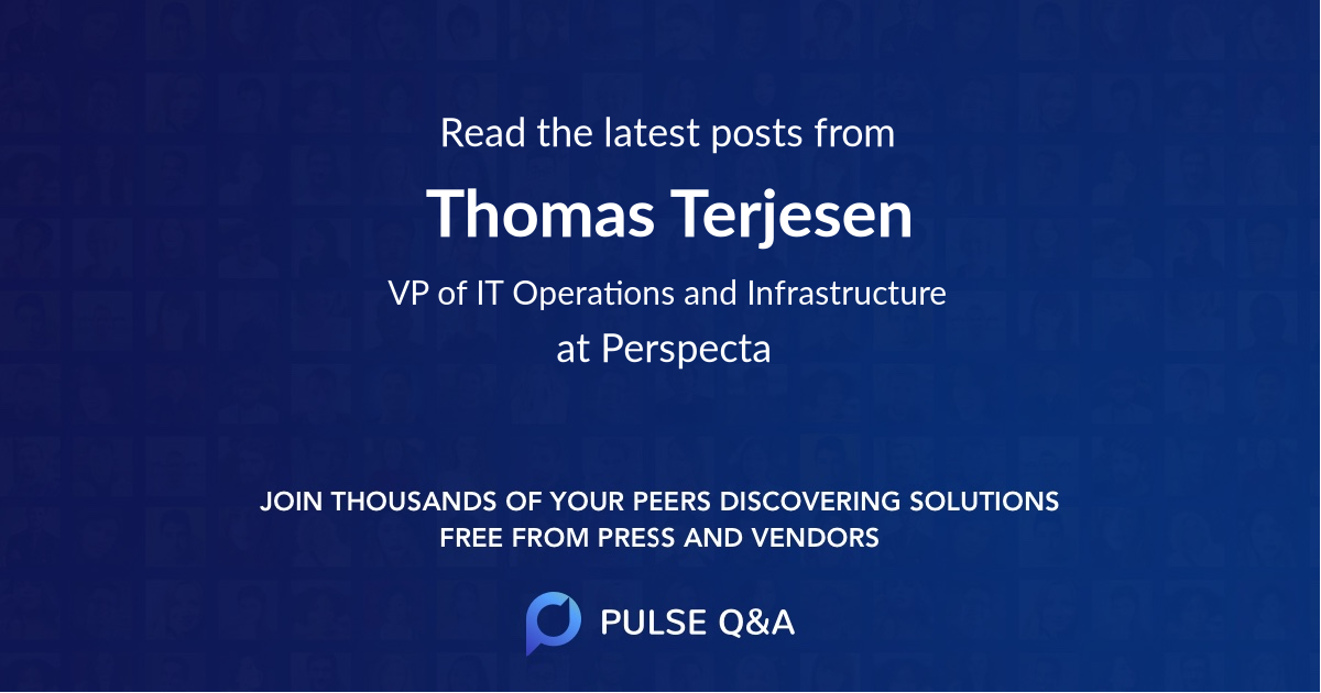 Thomas Terjesen