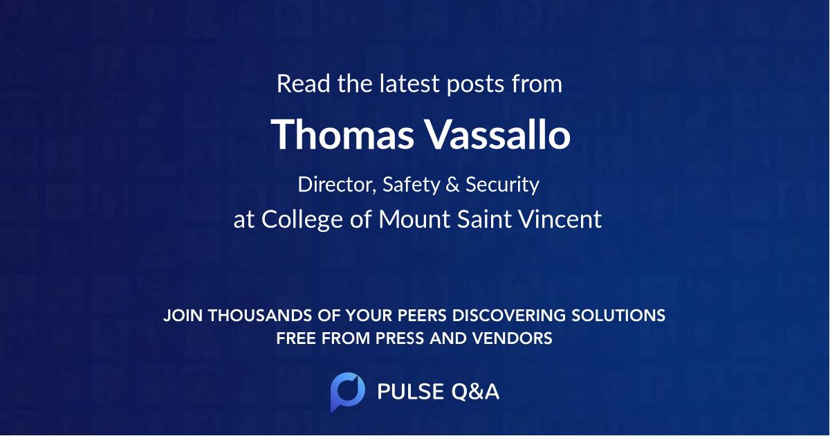 Thomas Vassallo