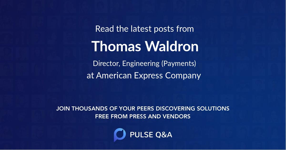 Thomas Waldron