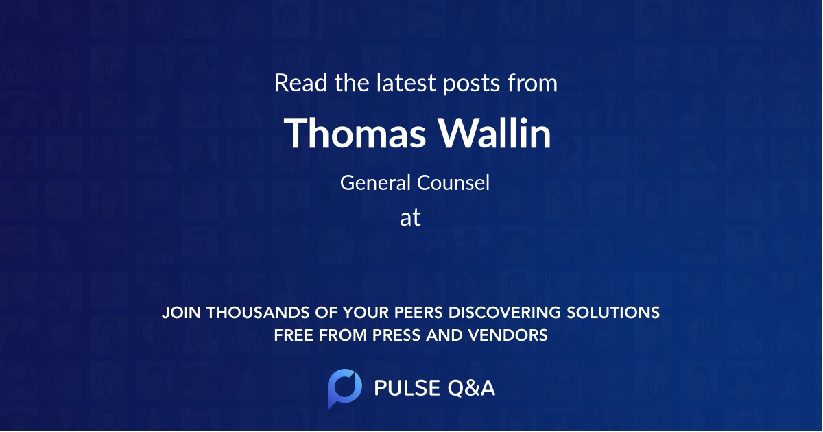 Thomas Wallin