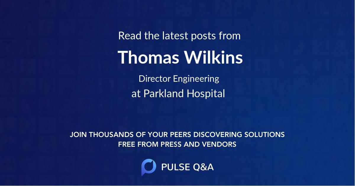 Thomas Wilkins