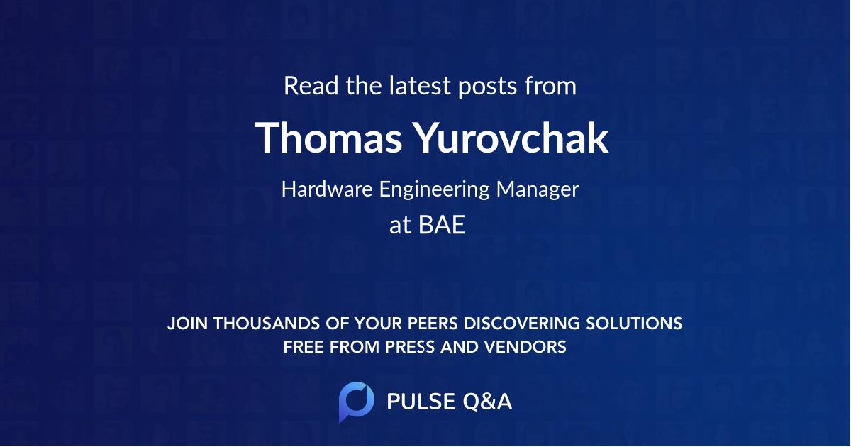 Thomas Yurovchak