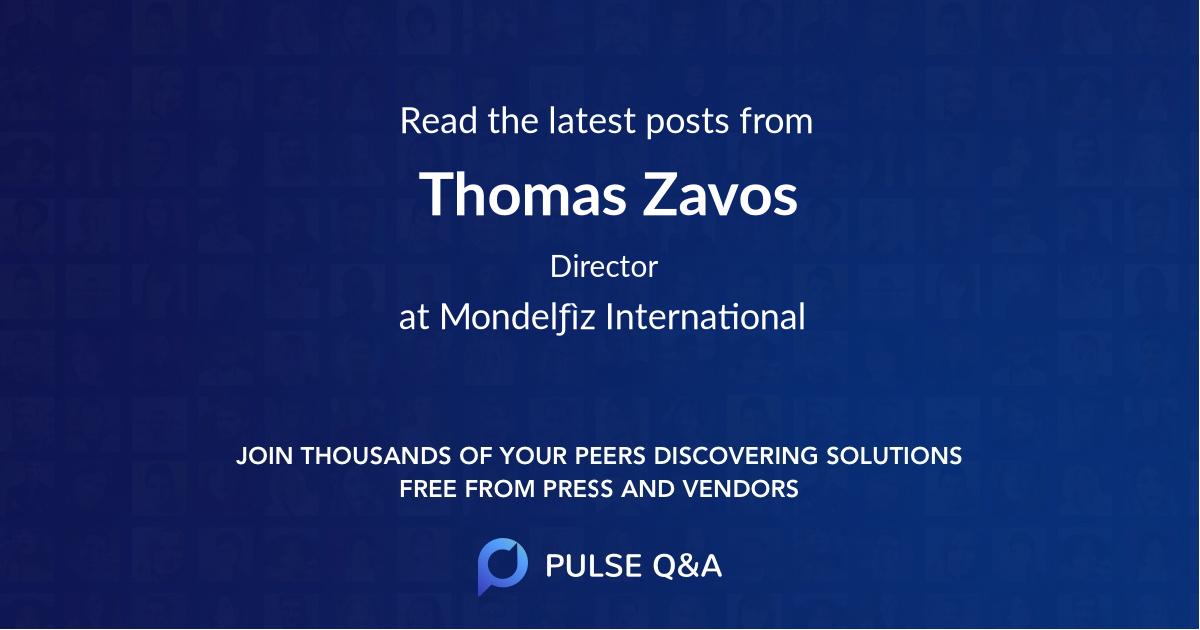 Thomas Zavos