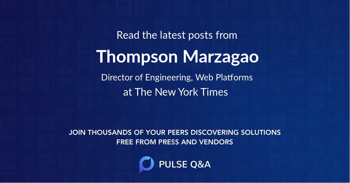 Thompson Marzagao