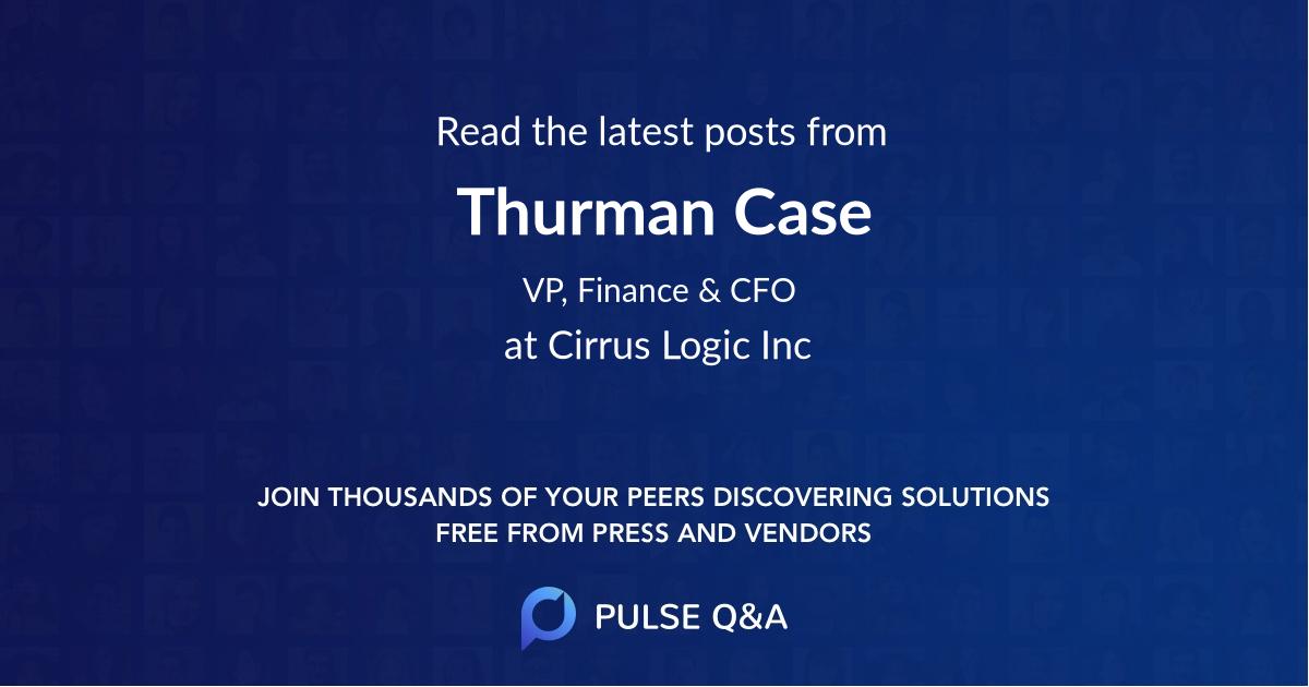 Thurman Case