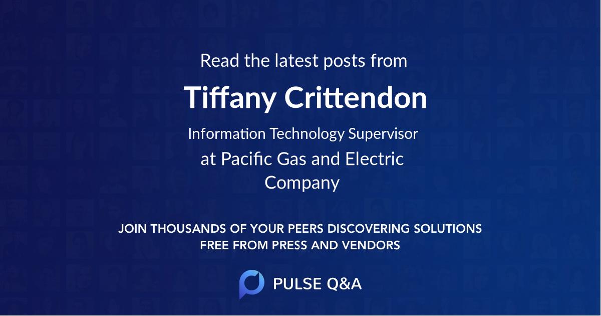 Tiffany Crittendon