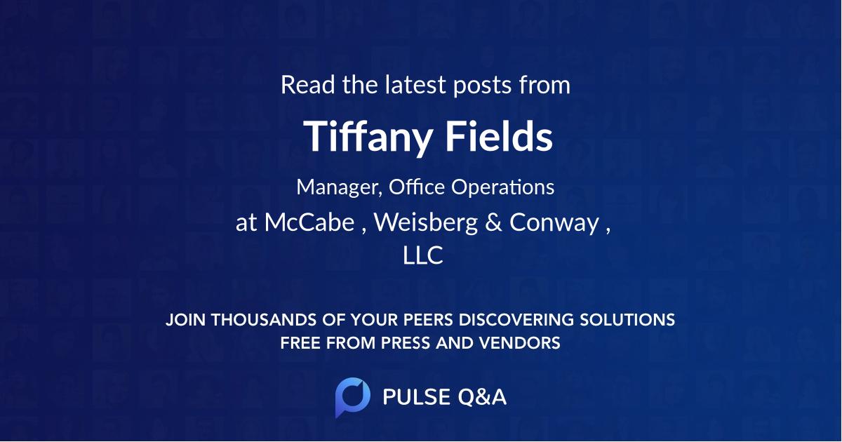 Tiffany Fields