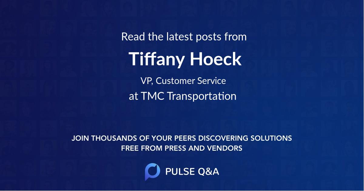 Tiffany Hoeck