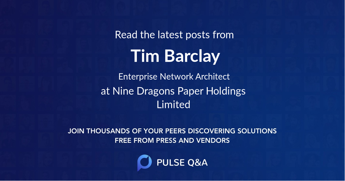 Tim Barclay