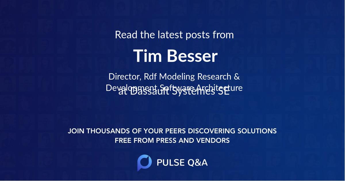 Tim Besser