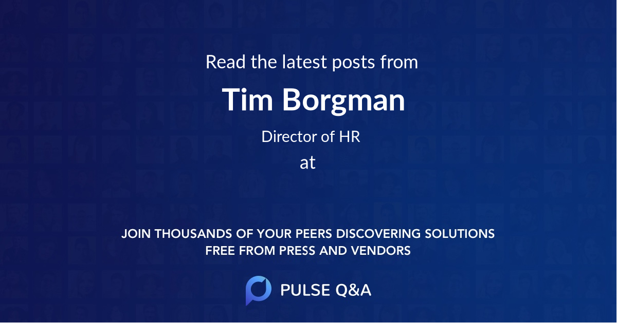 Tim Borgman