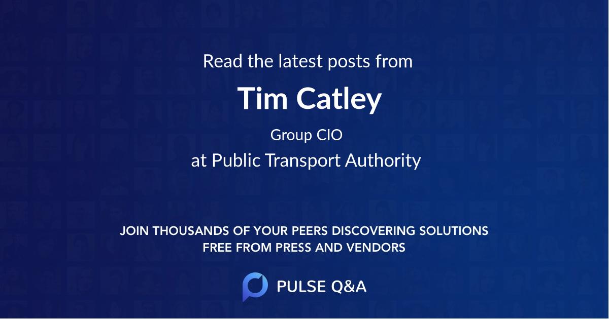 Tim Catley