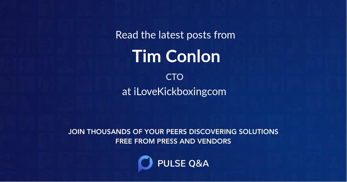 Tim Conlon