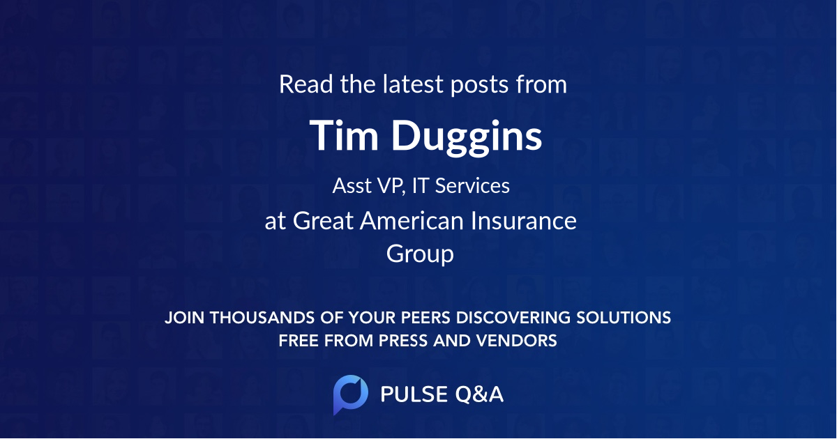Tim Duggins