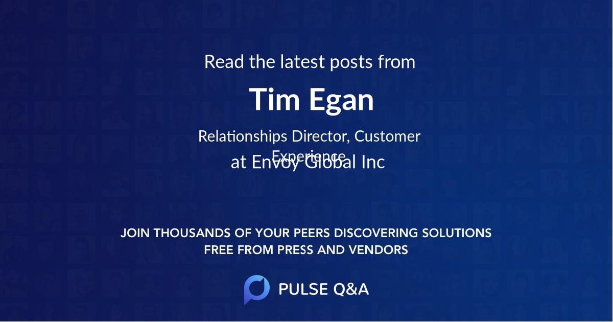 Tim Egan