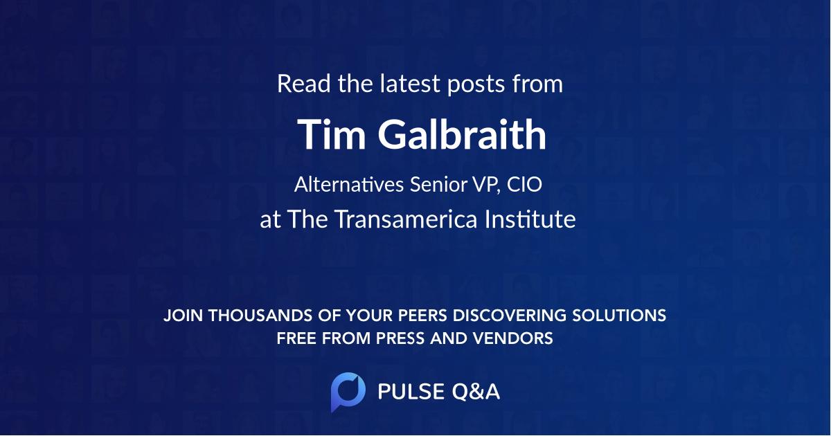 Tim Galbraith