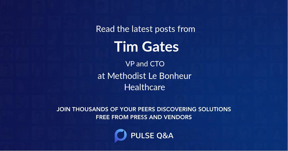 Tim Gates