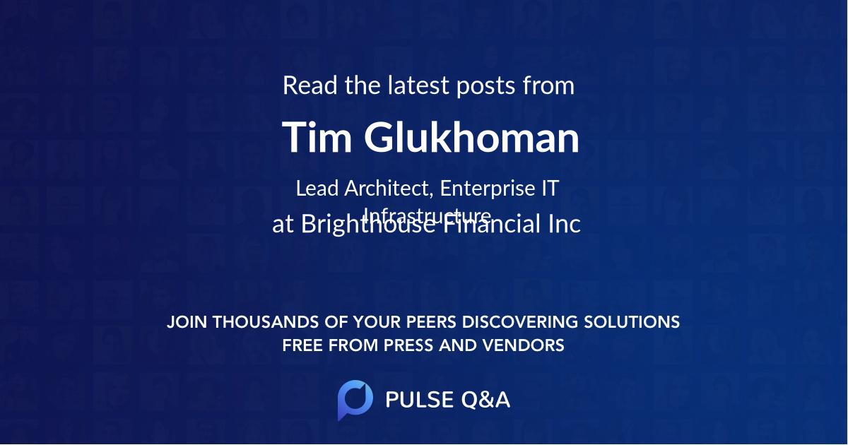 Tim Glukhoman