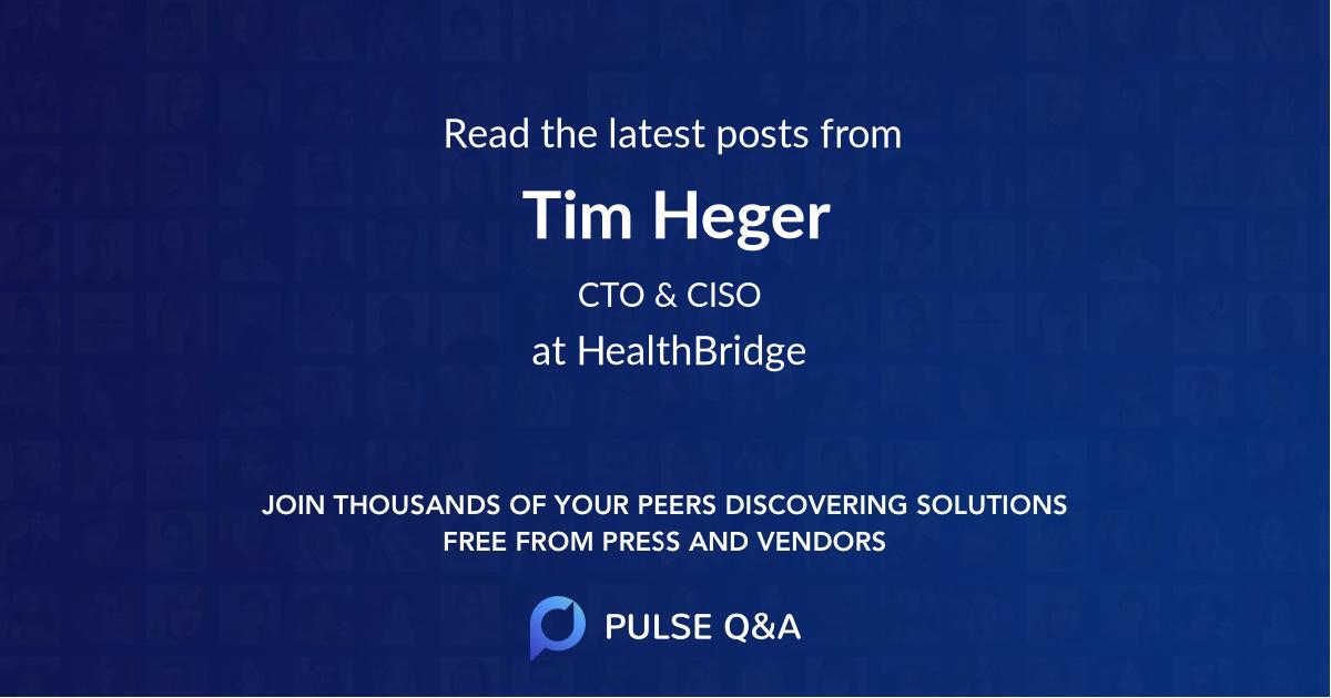 Tim Heger