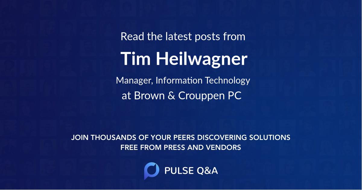 Tim Heilwagner