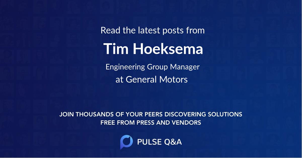 Tim Hoeksema