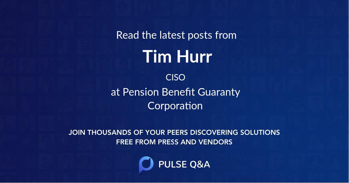 Tim Hurr