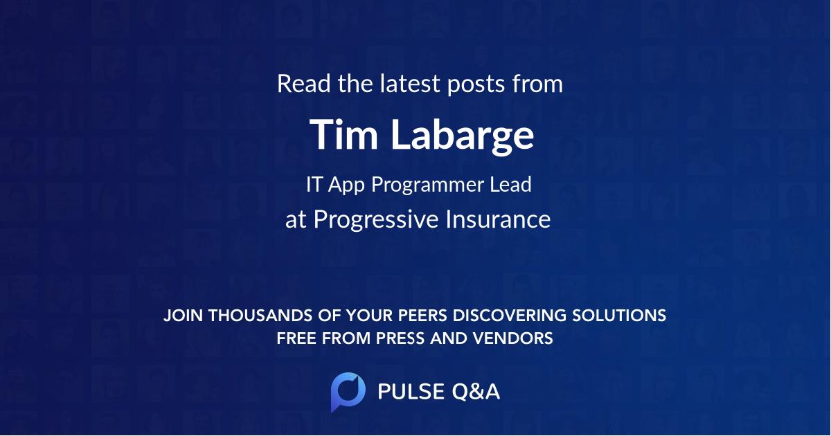 Tim Labarge