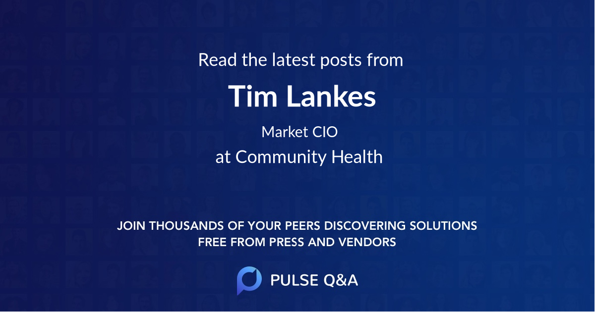 Tim Lankes