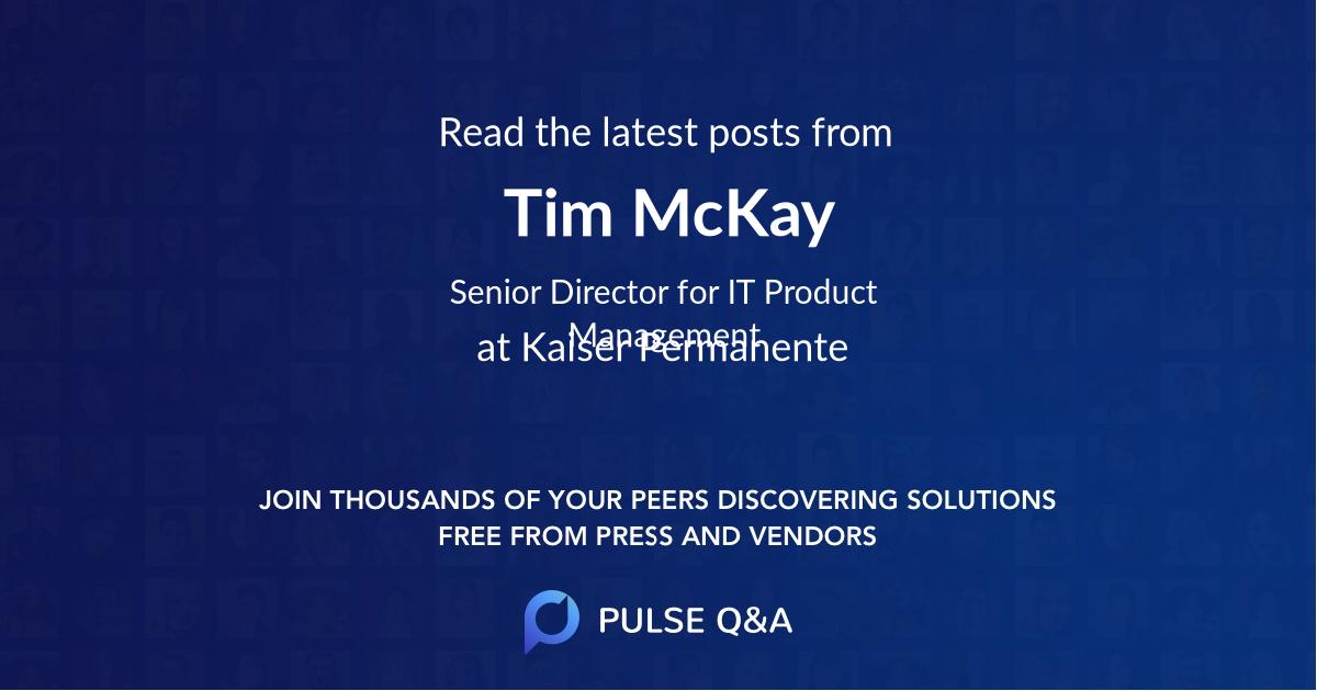 Tim McKay