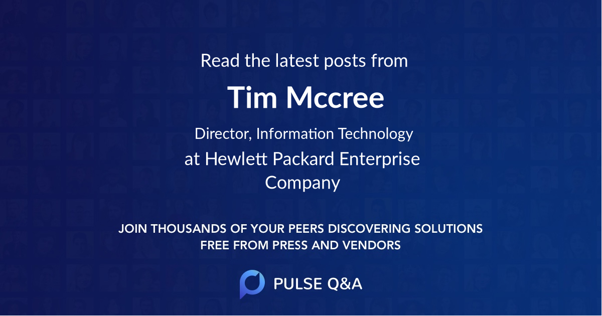 Tim Mccree