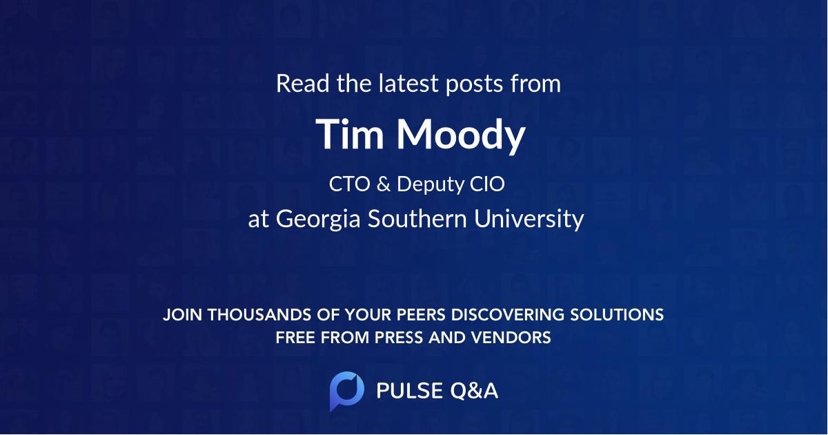 Tim Moody