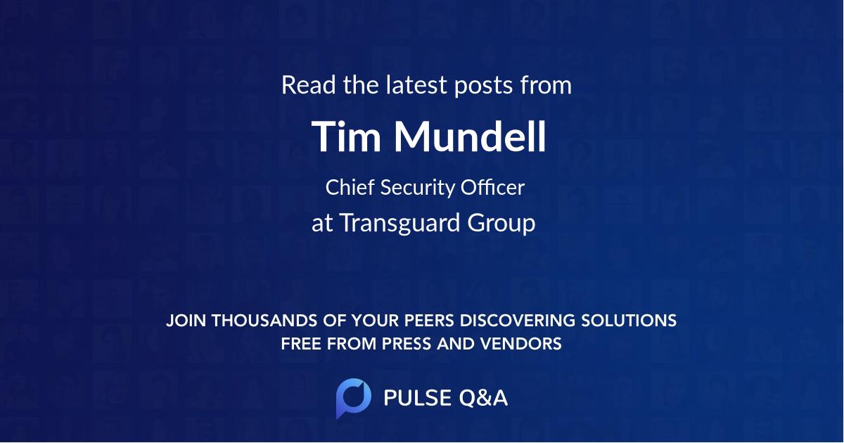 Tim Mundell