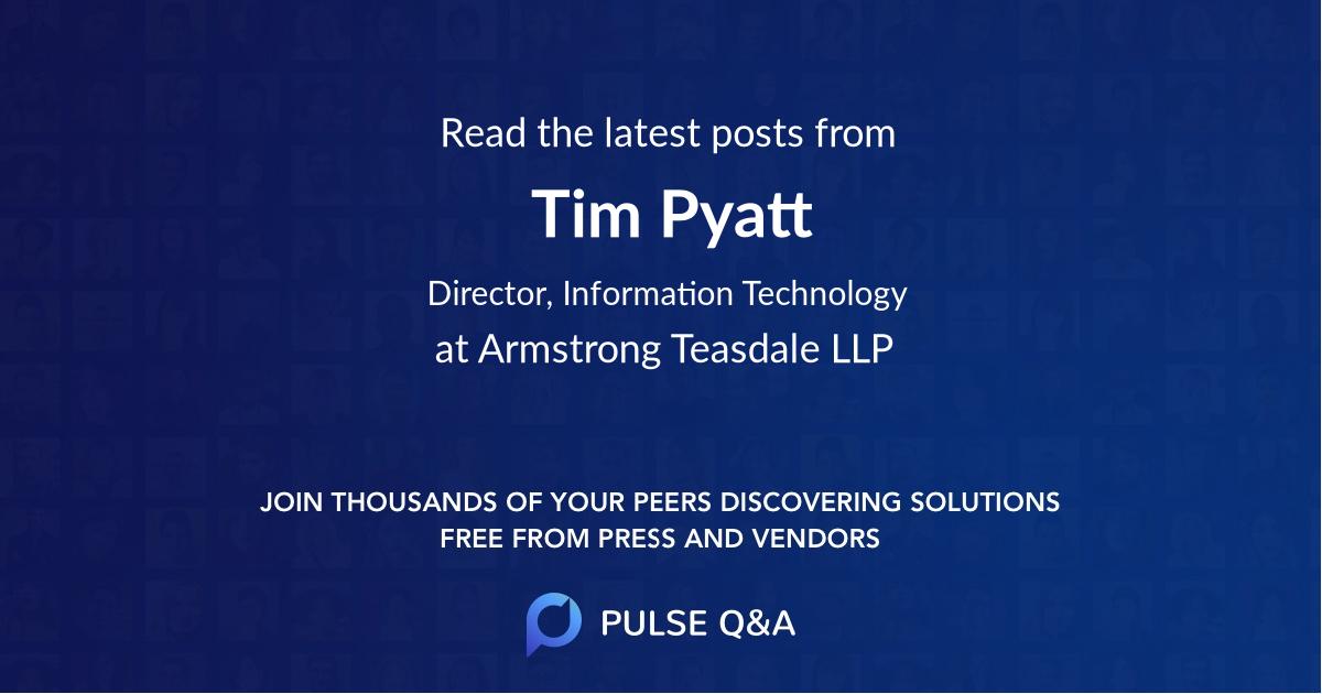 Tim Pyatt