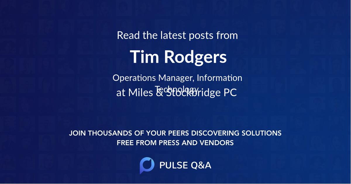 Tim Rodgers
