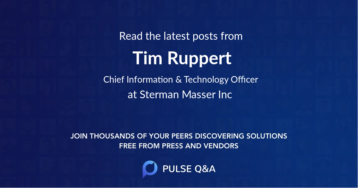 Tim Ruppert