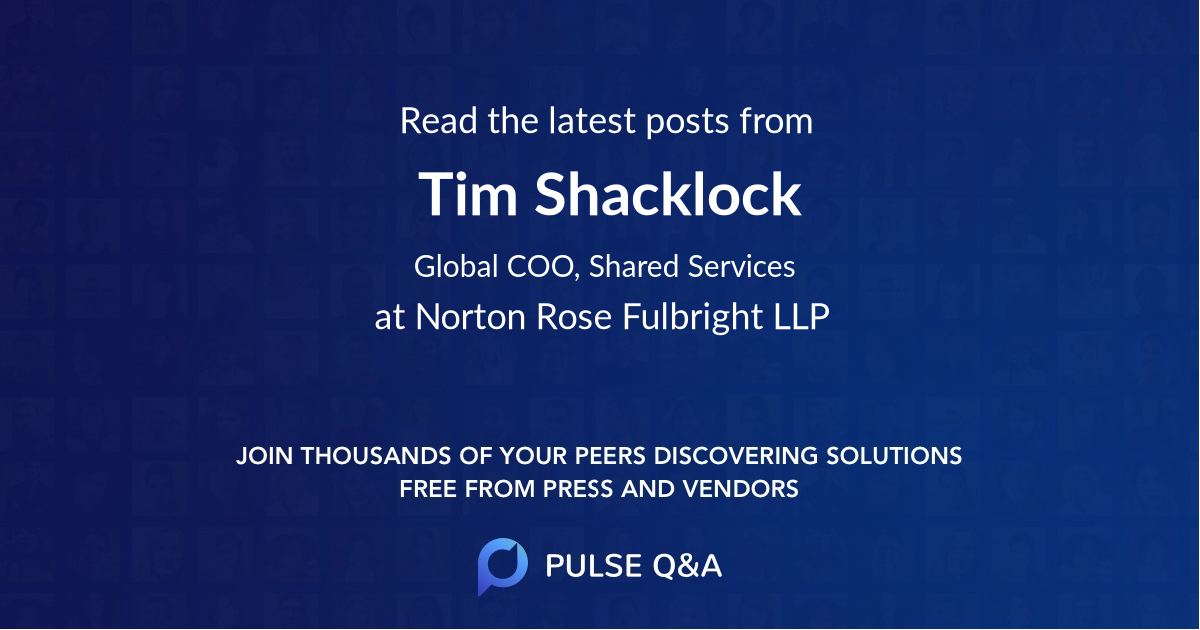 Tim Shacklock
