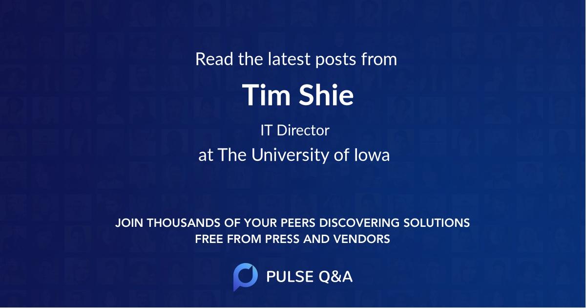 Tim Shie