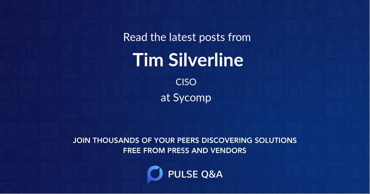 Tim Silverline