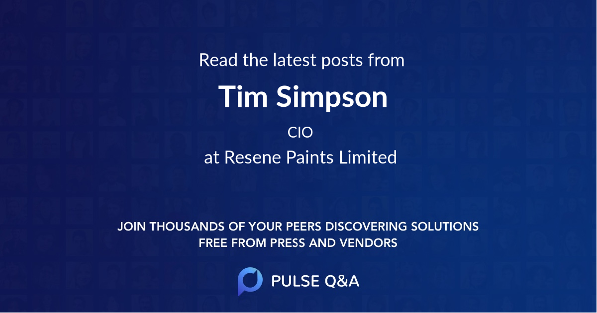 Tim Simpson