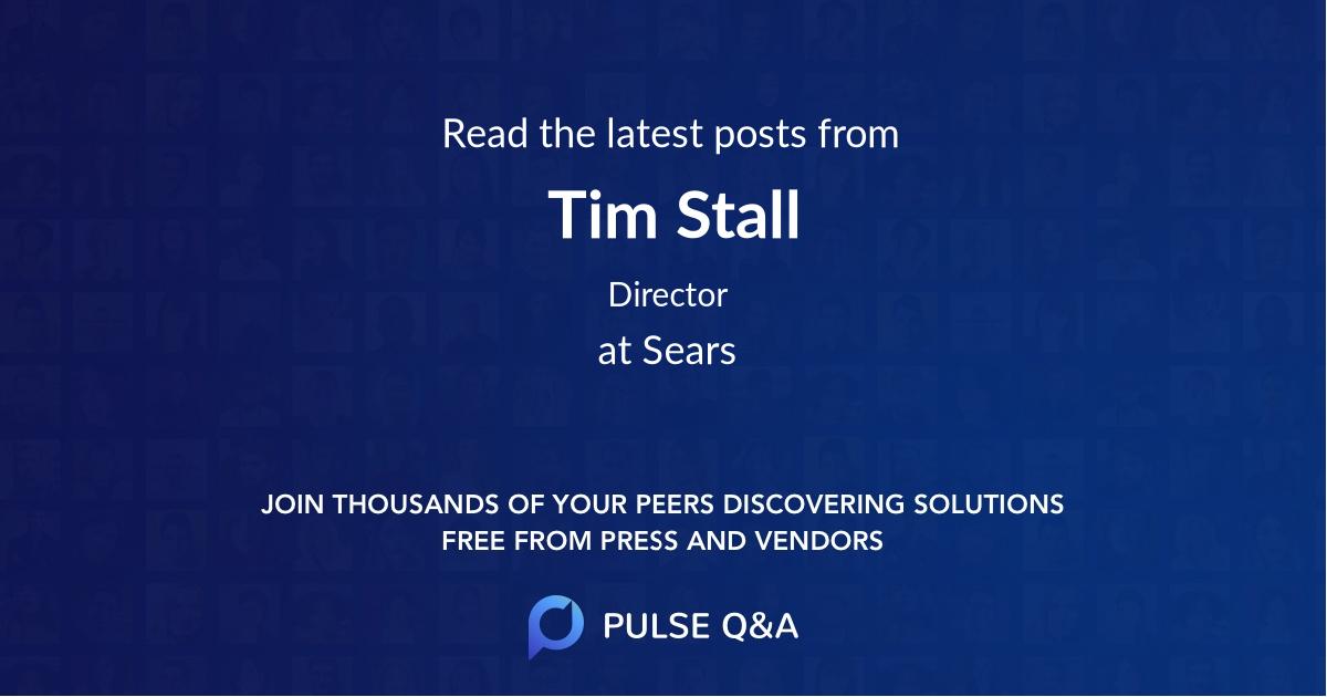 Tim Stall