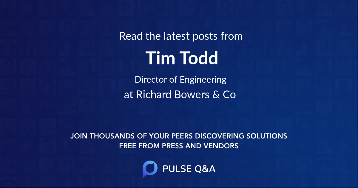 Tim Todd