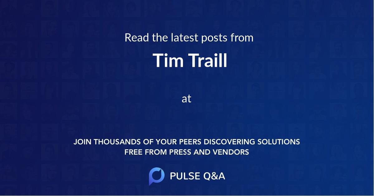 Tim Traill
