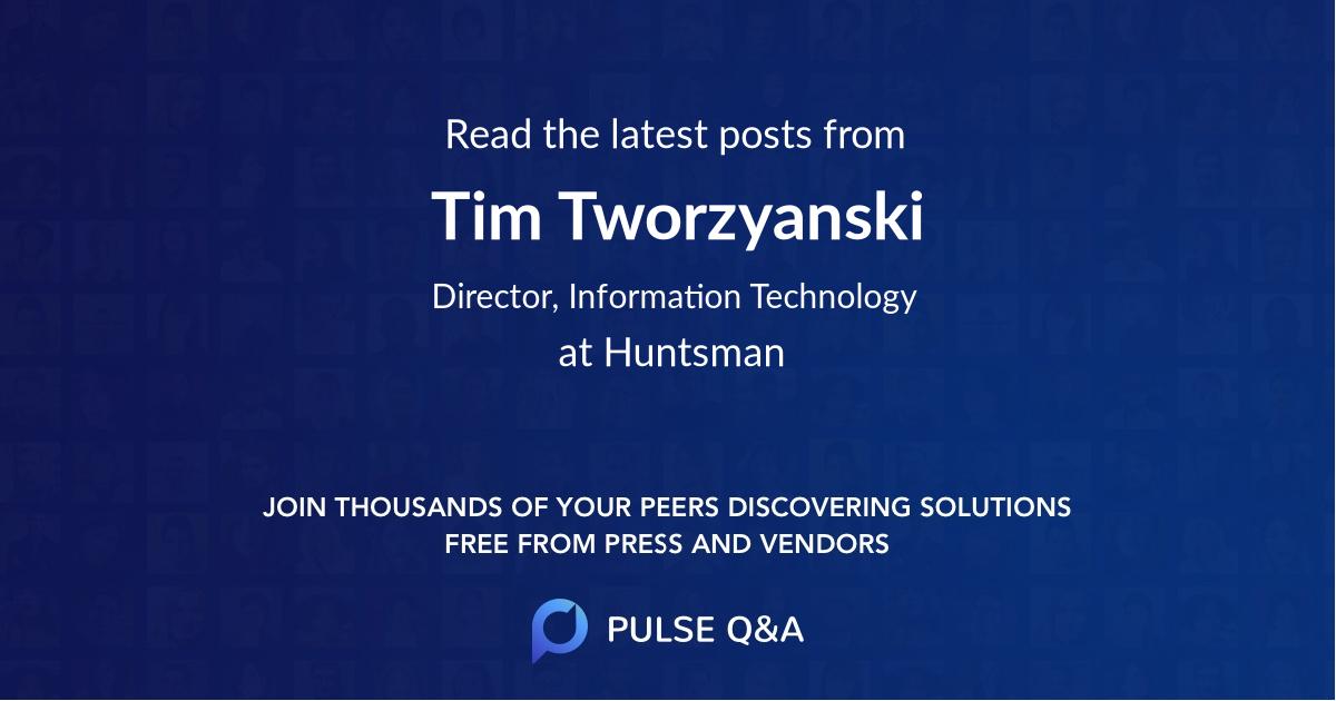 Tim Tworzyanski