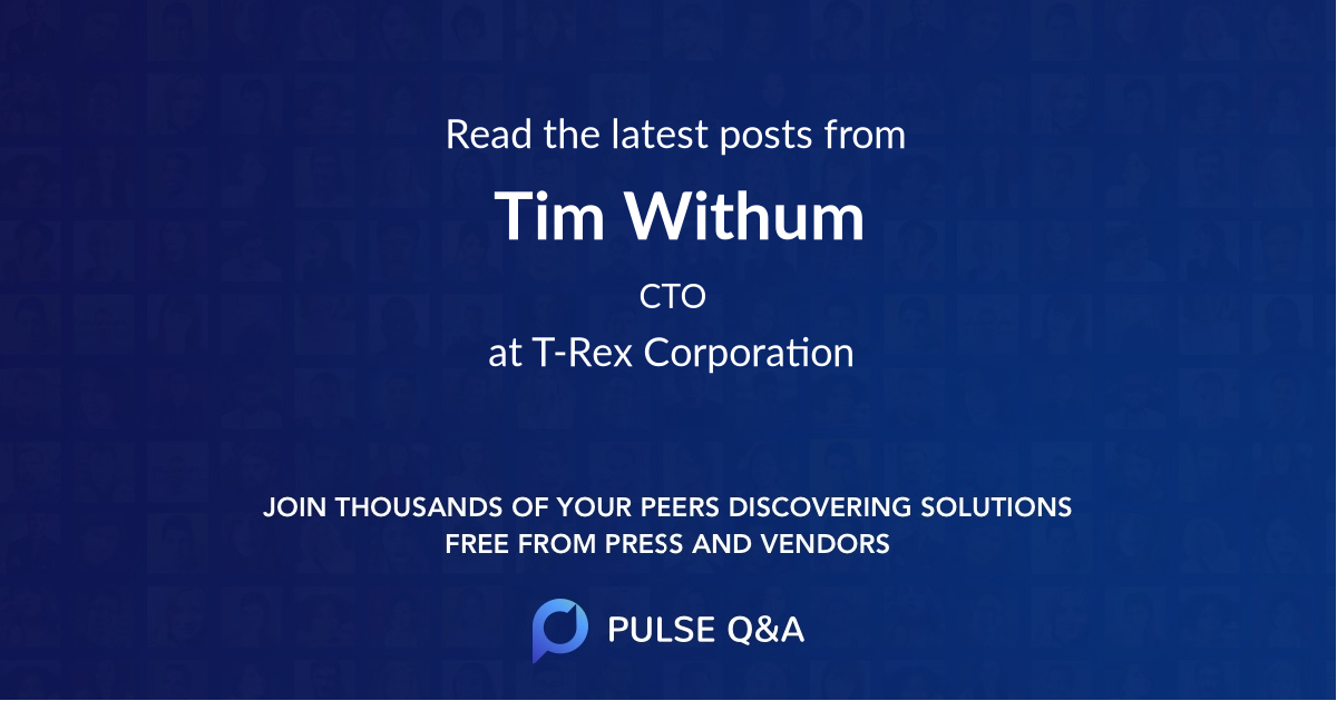 Tim Withum