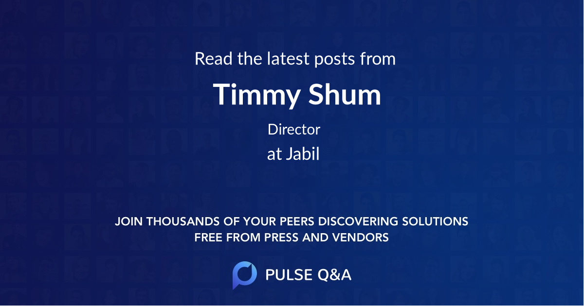 Timmy Shum