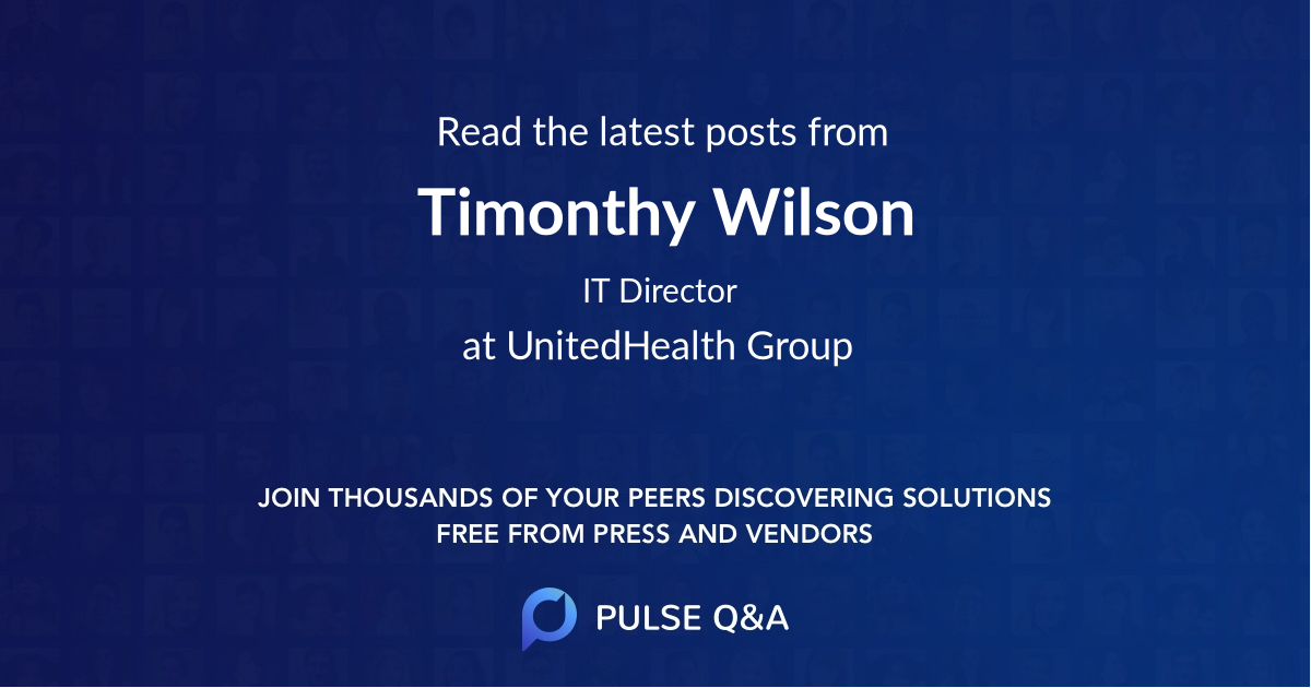 Timonthy Wilson