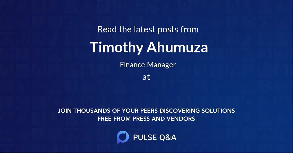 Timothy Ahumuza