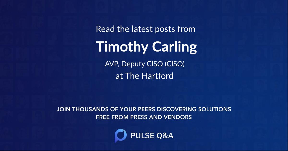 Timothy Carling